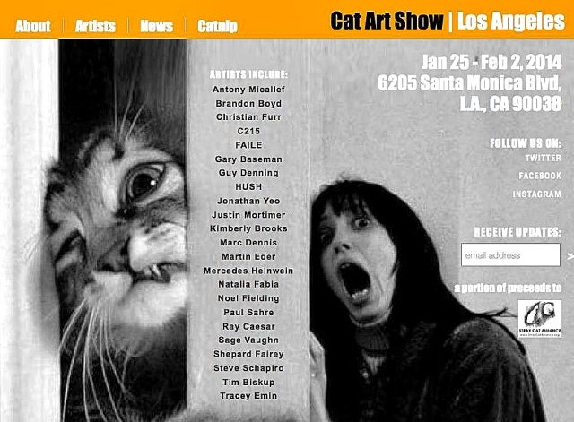 cat art show la flyer_Snapseed